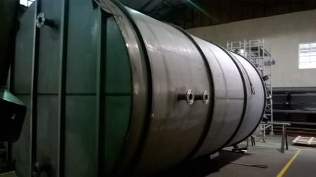 Stainless steel tanks for new client